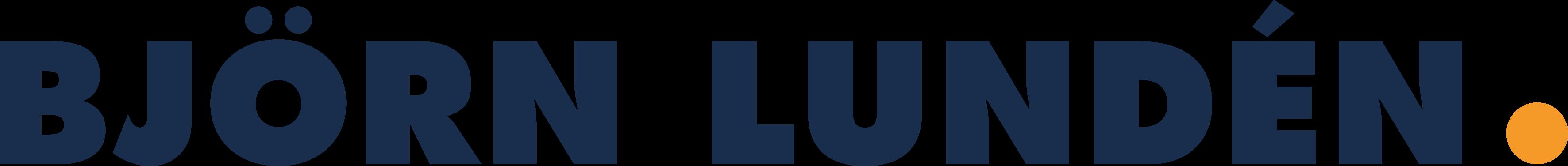 Björn lunden logo