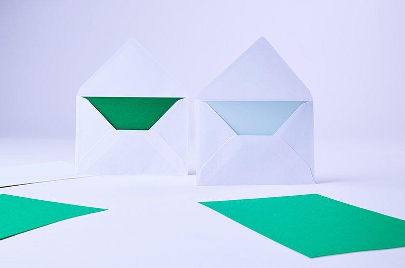 Fakturaadministration - utan gröna kuvert